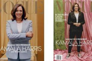 Bức ảnh Phó tổng thống đắc cử Kamala Harris lên bìa Vogue gây xôn xao dư luận