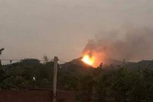 Dập tắt vụ cháy 3ha rừng ở Quảng Ninh