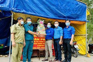 Tuổi trẻ Kiên Giang tiếp sức chiến sỹ biên giới chống dịch