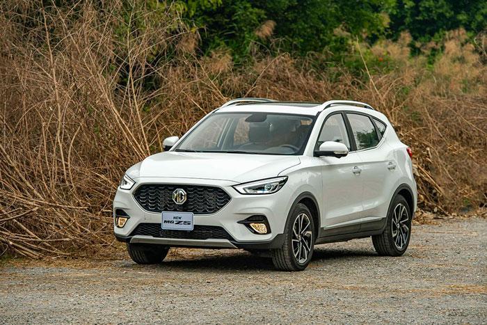 Giá lăn bánh SUV MG ZS 2021 vừa ra mắt tại Việt Nam