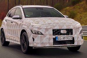 2021 Hyundai Kona N sẽ là mẫu SUV cao cấp với động cơ tăng áp 2.0L 4 xy-lanh, DCT 8 cấp