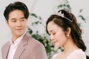 Hình ảnh lễ cưới cổ tích của MC Thùy Linh và chồng kém 5 tuổi