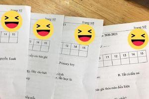 Cách đặt mã đề thi thời 4.0 khiến giới học trò 'khóc thét': Đừng mơ đến chuyện copy...