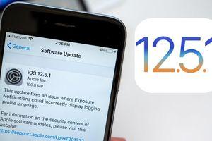 Người dùng iPhone đời cũ nên cập nhật ngay iOS 12.5.1