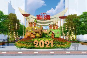 Đường hoa Nguyễn Huệ Tết Tân Sửu 2021: Hội tụ bản sắc, hướng tới tương lai