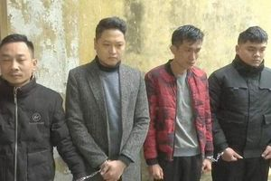 Nghệ An: Bắt được bốn đối tượng trộm xe ô tô trong đêm