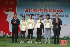 256 mô hình, sản phẩm tham gia Cuộc thi 'Sáng tạo thanh thiếu niên, nhi đồng tỉnh Thanh Hóa ' năm 20 20