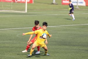 U19 Đông Á Thanh Hóa cầm hòa đương kim vô địch U19 PVF