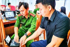 Triển khai thu nhận hồ sơ căn cước công dân