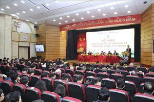 Hội nghị trực tuyến toàn quốc về công tác Thông tin và Truyền thông
