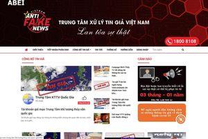 Thành lập Trung tâm Xử lý tin giả Việt Nam