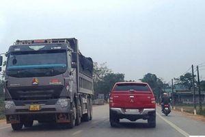 Dân bức xúc xe quá tải chạy trên QL47, tỉnh Thanh Hóa chỉ đạo xử lý gấp