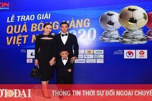Vượt qua 2 cầu thủ Viettel, Văn Quyết đoạt Quả bóng Vàng 2020