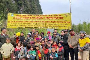 Hà Giang: Khánh thành con đường 5km tại bản Nậm Luông
