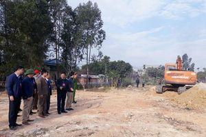 Tam Đảo (Vĩnh Phúc): Cưỡng chế thu hồi Khu đất dịch vụ, tái định cư, đấu giá tại Lồng Chấy, xã Minh Quang