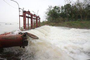 Hà Nội vận hành 72 trạm bơm lấy nước sản xuất vụ xuân