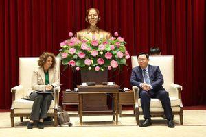 Hà Nội coi trọng sự hỗ trợ của Ngân hàng Thế giới trong công cuộc phát triển