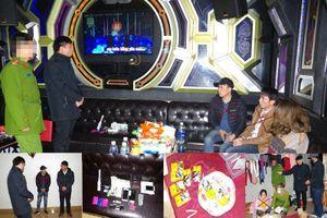 Chủ quán karaoke cùng nhân viên tàng trữ trái phép chất ma túy