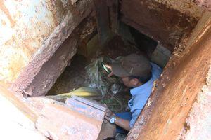 Hai căn hầm trú ẩn của kẻ buôn ma túy