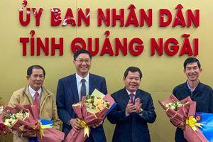 Bí thư 8X của huyện đảo Lý Sơn làm giám đốc sở