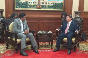 Tổng lãnh sự Ấn Độ: 'Hợp tác với Việt Nam là đôi bên cùng có lợi'