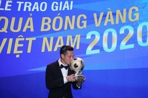 Sự chuyển dịch của Quả bóng vàng Việt Nam