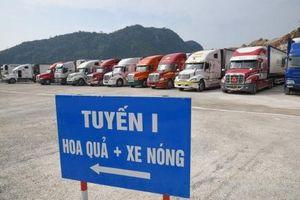 Cận Tết, xuất nhập khẩu 'ấm' lên tại các cửa khẩu Lạng Sơn
