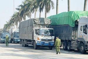 300 tấn hàng lậu núp bóng nhập chính ngạch từ Quảng Ninh về Hà Nội