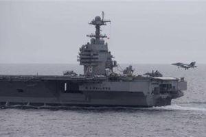 USS Gerald R.Ford chưa thể hoạt động sau 3 năm trang bị
