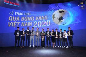 Tôn vinh các cầu thủ xuất sắc nhất Việt Nam