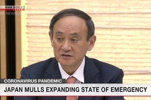 Nhật Bản dự kiến mở rộng tình trạng khẩn cấp