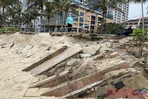 Đà Nẵng tìm giải pháp nhằm hạn chế xói lở bờ biển