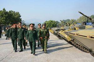 Đoàn công tác Bộ Quốc phòng kiểm tra công tác sẵn sàng chiến đấu tại các đơn vị