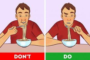 Giữ dáng với 10 mẹo ăn ít mà vẫn no lâu