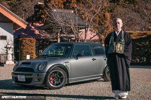 Nhà sư Nhật Bản chia sẻ về chiếc Mini Cooper S độ đặc biệt