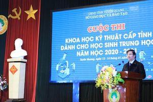 Tuyên Quang: 201 dự án thuộc 14 lĩnh vực dự thi Khoa học, kỹ thuật cấp tỉnh