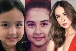 Lịm tim trước bức hình 'mỹ nhân đẹp nhất Philippines' cùng con gái nhỏ