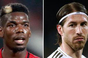 Man Utd tiếp cận Sergio Ramos; Pogba được Real Madrid liên hệ trở lại