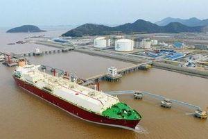 Nhập khẩu LNG của Trung Quốc tăng 12% trong năm 2020