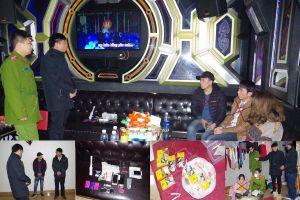 Bắt 4 đối tượng tàng trữ trái phép ma túy trong quán Karaoke