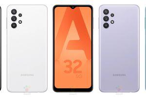 Ảnh render chính thức của Samsung Galaxy A32 5G tiết lộ thiết kế mặt sau