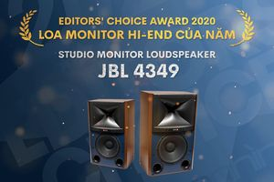 Editors' Choice Awards 2020 - JBL 4349 - Loa monitor hiend của năm