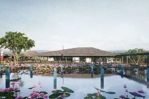 Phối cảnh quy hoạch bảo tồn, tôn tạo Khu lưu niệm Chủ tịch Hồ Chí Minh