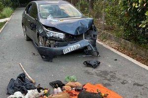 Bắt được một tên trong nhóm trộm chó lái ô tô tông vào xe công an