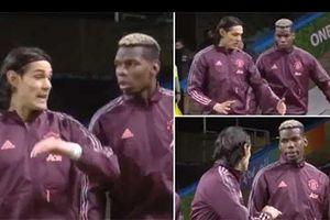 Cavani chỉ điểm cho Pogba trước chiến thắng của M.U