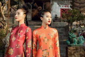 'Chị chị em em' Thanh Thảo - Hải My đẹp xuất thần trong tà áo dài Tết