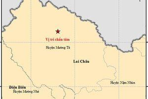 Động đất mạnh 3,6 độ richter xảy ra ở Lai Châu