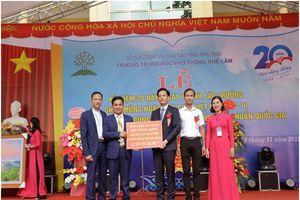 Phú Thọ: Thành tựu xã hội hóa giáo dục ở Trường THPT Quế Lâm