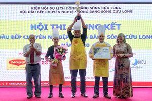Ông Nguyễn Lộc tái đắc cử Chủ tịch Hội đầu bếp chuyên nghiệp ÐBSCL