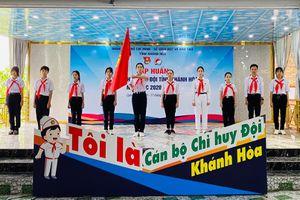 175 học sinh tham gia lớp tập huấn Ban Chỉ huy Liên đội